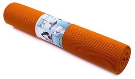 Коврик для фитнеса (йога-мат) Green Camp оранжевый, 173х61х0,4 см (GC61174-OR)