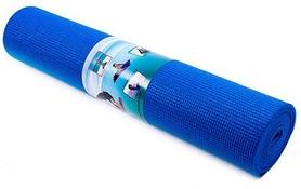 Коврик для фитнеса (йога-мат) Green Camp синий, 173х61х0,6 см (GC611736PVC-1B)
