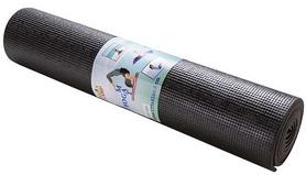 Коврик для фитнеса (йога-мат) Green Camp черный, 173х61х0,6 см (GC611736PVC-1BL)