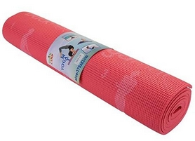 Коврик для фитнеса (йога-мат) Back Health розовый, 173х61х0,6 см (5415-17P)