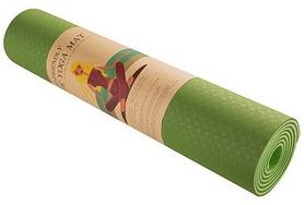 Коврик для фитнеса (йога-мат) Back Health зеленый, 183х61х0,6 см (5415-2GG)