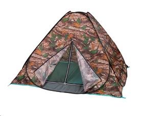 Палатка-автомат трехместная туристическая Mountain Outdoor камуфляжная (HX-8140)