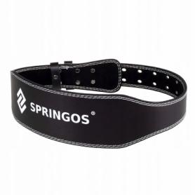 Пояс для тяжелой атлетики и пауэрлифтинга Springos (FA0119-1)