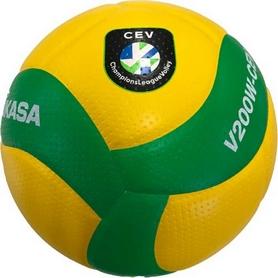 Мяч волейбольный Mikasa, №5 (V200W-CEV)