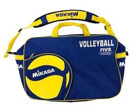 Мешок для 6-ти волейбольных мячей Mikasa (AC-BG260W-BL)