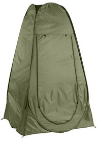 Палатка-душ туристическая Mountain Outdoor зеленая (10485-2)