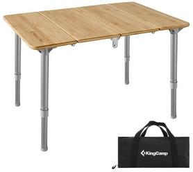 Стол складной KingCamp Bamboo 6040 (KC1913_YELLOW)