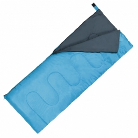 Мешок спальный (спальник) SportVida +2 ...+ 21°C R голубой, 180x75 см (SV-CC0060)