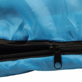 Мешок спальный (спальник) SportVida +2 ...+ 21°C R голубой, 180x75 см (SV-CC0060) - Фото №4