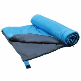 Мешок спальный (спальник) SportVida +2 ...+ 21°C R голубой, 180x75 см (SV-CC0060) - Фото №6