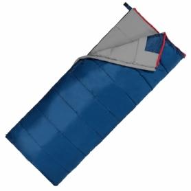 Мешок спальный (спальник) SportVida -3 ...+ 21°C R синий, 190x75 см (SV-CC0066)