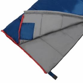 Мешок спальный (спальник) SportVida -3 ...+ 21°C R синий, 190x75 см (SV-CC0066) - Фото №9