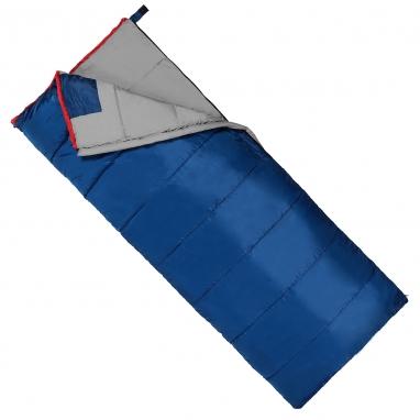 Мешок спальный (спальник) SportVida -3 ...+ 21°C L синий, 190x75 см (SV-CC0067)