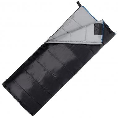 Мешок спальный (спальник) SportVida -3 ...+ 21°C R черный, 190x75 см (SV-CC0068)