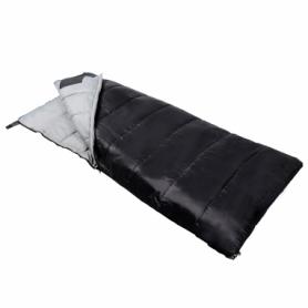Мешок спальный (спальник) SportVida -3 ...+ 21°C R черный, 190x75 см (SV-CC0068) - Фото №4