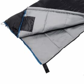 Мешок спальный (спальник) SportVida -3 ...+ 21°C R черный, 190x75 см (SV-CC0068) - Фото №8