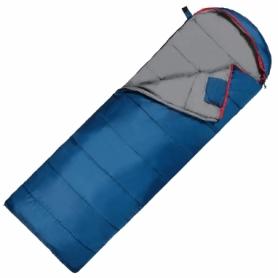 Мешок спальный (спальник) SportVida -3 ...+ 21°C R синий, 220x75 см (SV-CC0070)