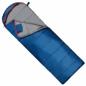 Мешок спальный (спальник) SportVida -3 ...+ 21°C L синий, 220x75 см (SV-CC0071)