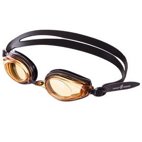 Очки для плавания MadWave Techno II (M042804_BLK-YEL)