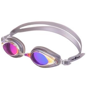 Очки для плавания MadWave Techno Mirror II серые (M042803_SR)