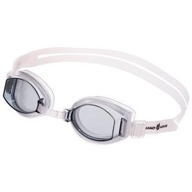 Очки для плавания MadWave Simpler серые (M042409_GR)