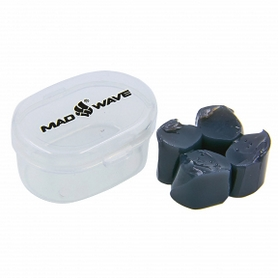 Беруши для плавания MadWave черные (M071401_BLK)