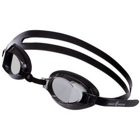 Очки для плавания детские MadWave Stalker Junior черные (M041903_BLK)