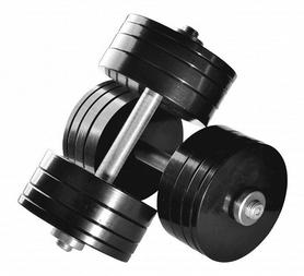 Гантели наборные стальные Boost, 2 шт. по 28 кг (ST-D-009)