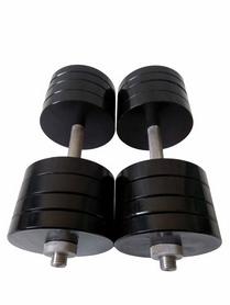 Гантели наборные стальные Boost, 2 шт. по 36 кг (ST-D-013)