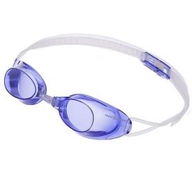 Очки для плавания стартовые MadWave Liquid Racing (M045301_BL)