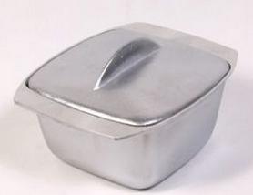 Гуляшница с крышкой Силумин, 1,5 л (4820149870151)
