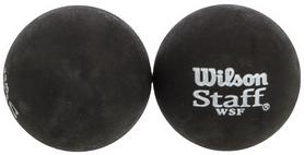 Мяч для сквоша Wilson Staff Squash 2 Ball Yel Dot, 2 шт (WRT617600)