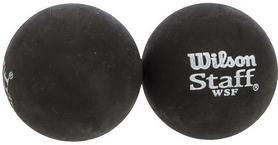Мяч для сквоша Wilson Staff Squash 2 Ball Yel Dot, 2 шт (WRT617800)