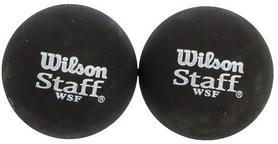 Мяч для сквоша Wilson Staff Squash 2 Ball Red Dot, 2 шт (WRT617700)