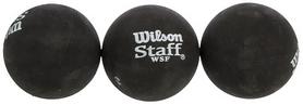 Мяч для сквоша Wilson Staff, 3шт (WRT618100)