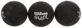 Мяч для сквоша Wilson Staff, 3 шт (WRT618300)