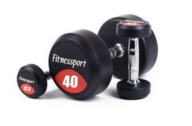 Гантельный ряд профессиональный Fitnessport, 12 пар (FDS-10 12,5/40kg)