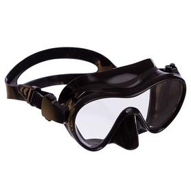 Маска для плавания Swim One черная (PL-1293_BLK)