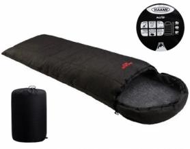 Мешок спальный (спальник) Vulkan Micro меланж черный (VU1216MH)