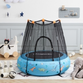 Батут надувной детский Insportline Nufino синий, 120 см (22307-1)