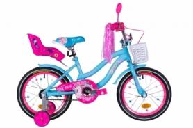 "Велосипед детский Formula Flower Premium 2021 - 16"", рама - 10"" (OPS-FRK-16-149)"