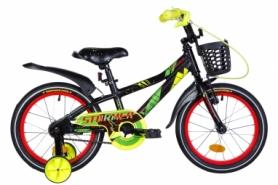 """Велосипед детский Formula Stormer 2021 - 16"""", рама - 8,5'' желтый (OPS-FRK-16-160)"""