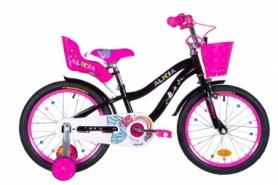 """Велосипед детский Formula Alicia 2021 - 18"""", рама - 9,5"""" черный (OPS-FRK-18-077)"""