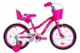 """Велосипед детский Formula Alicia 2021 - 18"""", рама - 9,5"""" красный (OPS-FRK-18-079)"""