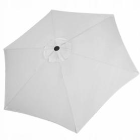 Зонт пляжный (садовый) с наклоном Springos серый, 250 см (GU0012) - Фото №5