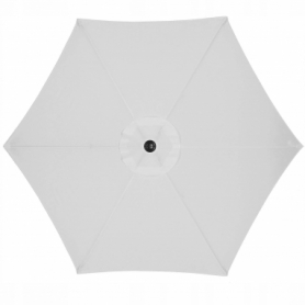 Зонт пляжный (садовый) с наклоном Springos серый, 250 см (GU0012) - Фото №9