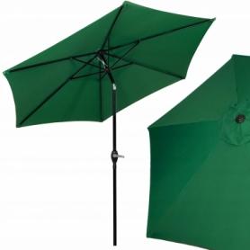 Зонт пляжный (садовый) с наклоном Springos зеленый, 250 см (GU0014)