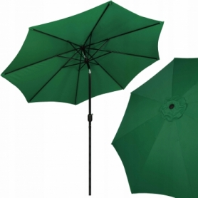 Зонт пляжный (садовый) с наклоном Springos зеленый, 290 см (GU0019)