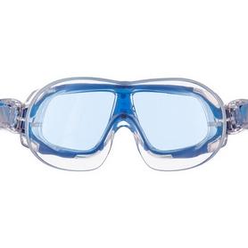 Очки-полумаска для плавания MadWave Sigyt II серые (M046301_GR-WHT) - Фото №3