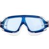 Очки-полумаска для плавания MadWave Sigyt II серые (M046301_GR-WHT) - Фото №4